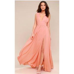 Heavenly Hues Light Pink Maxi